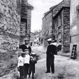 Port Isaac Scene - 1910s