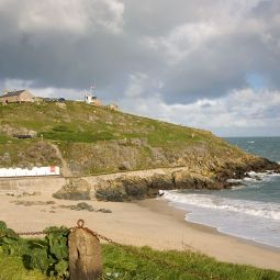 Porthgwidden and the Island
