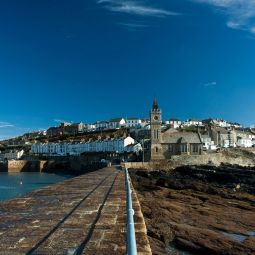 Porthleven from the Pier