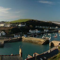 Porthleven Harbour Panorama