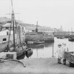 Porthleven Inner Harbour circa 1911