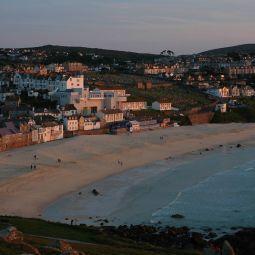 Porthmeor Beach - Evening Light