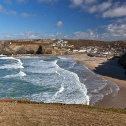 Portreath Beach from West Hill