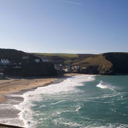 Portreath Beach - Winter Sun