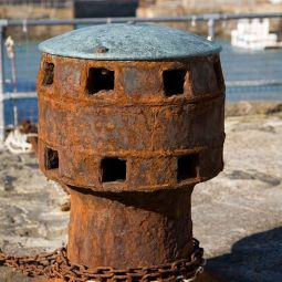 Old Capstan - Portreath Harbour