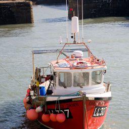 Portreath fishing boat
