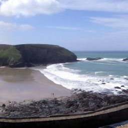 Portreath Beach Panorama
