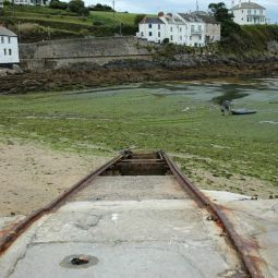 Slipway at Portmellon Beach