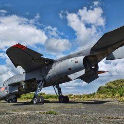 RAF Sepecat Jaguar (XX845) wreck, Predannack Airfield
