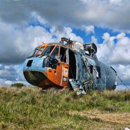 Old Sea King, Predannack Airfield