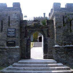 Prideaux Place Entrance - Padstow
