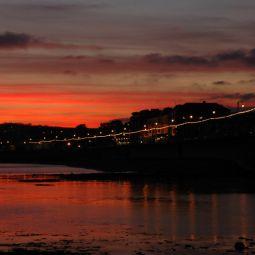 Penzance Promenade Sunset