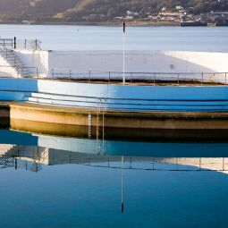 Jubilee Pool Reflection - Penzance