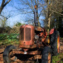 Little Old Red Tractor
