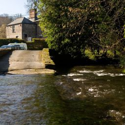 River Menalhyl in St Mawgan