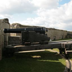 Rotating Cannon - St Mawes Castle