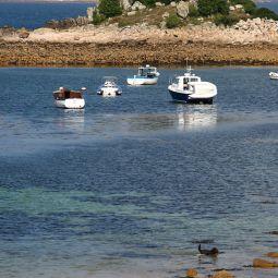 Boats in Blanket Bay
