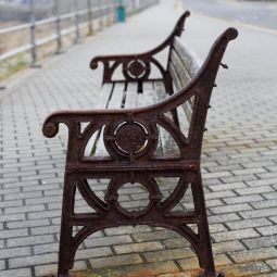 Rusty Bench - Sennen