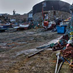 Sennen Harbour and Slipway