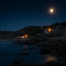 Sennen Beach at Moonrise