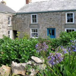 Cottages on St Agnes, Scilly