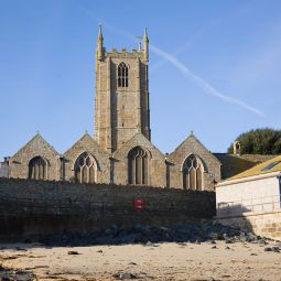 Church by the beach - St Ives
