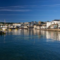 St Ives Harbour - Early morning blue
