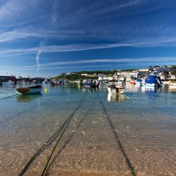 St Ives Harbour - Summer morning