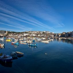 St Ives Harbour - Wide view