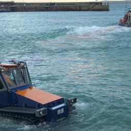 Launching the St Ives Lifeboat 4