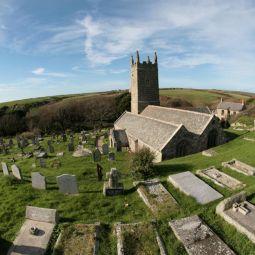 St Levan Churchyard