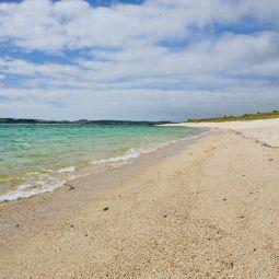 Deserted beach - St Martin's, Scilly