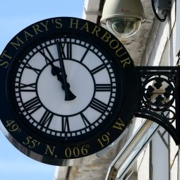 St Mary's Harbour clock