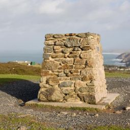 OS Marker - St Agnes Beacon