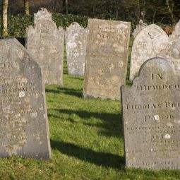 St Breward Headstones