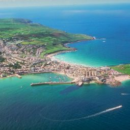 St Ives from the air