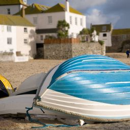 Small Boats on St Ives Harbour Beach