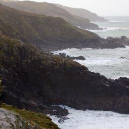 Coast Beyond St Ives