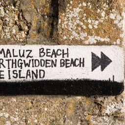 Beach sign - St Ives