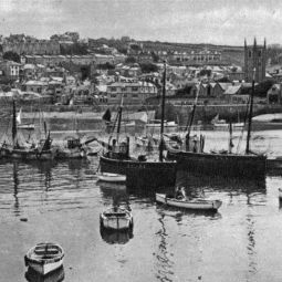St Ives Harbour - 1920s