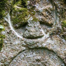 Cross and Inscription - St Keyne's Well