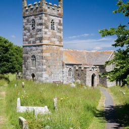 St Winwallow's Church in Landewednack