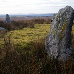 Stripple Stones Circle - Bodmin Moor