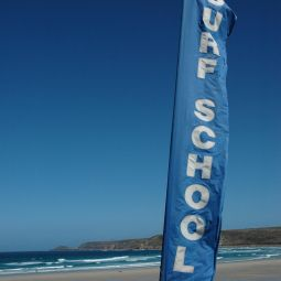 Surf School Flag