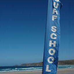Surf School Flag