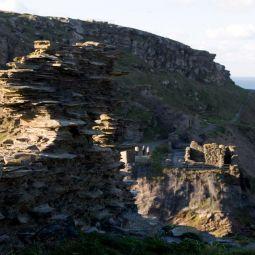 Tintagel Castle View