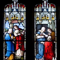 Tintagel Stained Glass Window