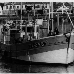 Newlyn, going to work
