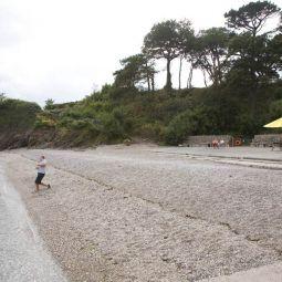 Trebah Beach