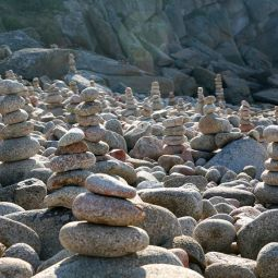 Troy Town rock piles